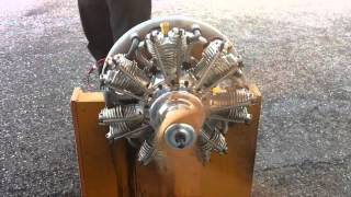 getlinkyoutube.com-EVO 7Cylinder 4st 260cc Gas Radial Engine