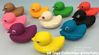 getlinkyoutube.com-Learn to Count Numbers 1 to 9 with Play Doh Ducks Fun and Creative for Kids