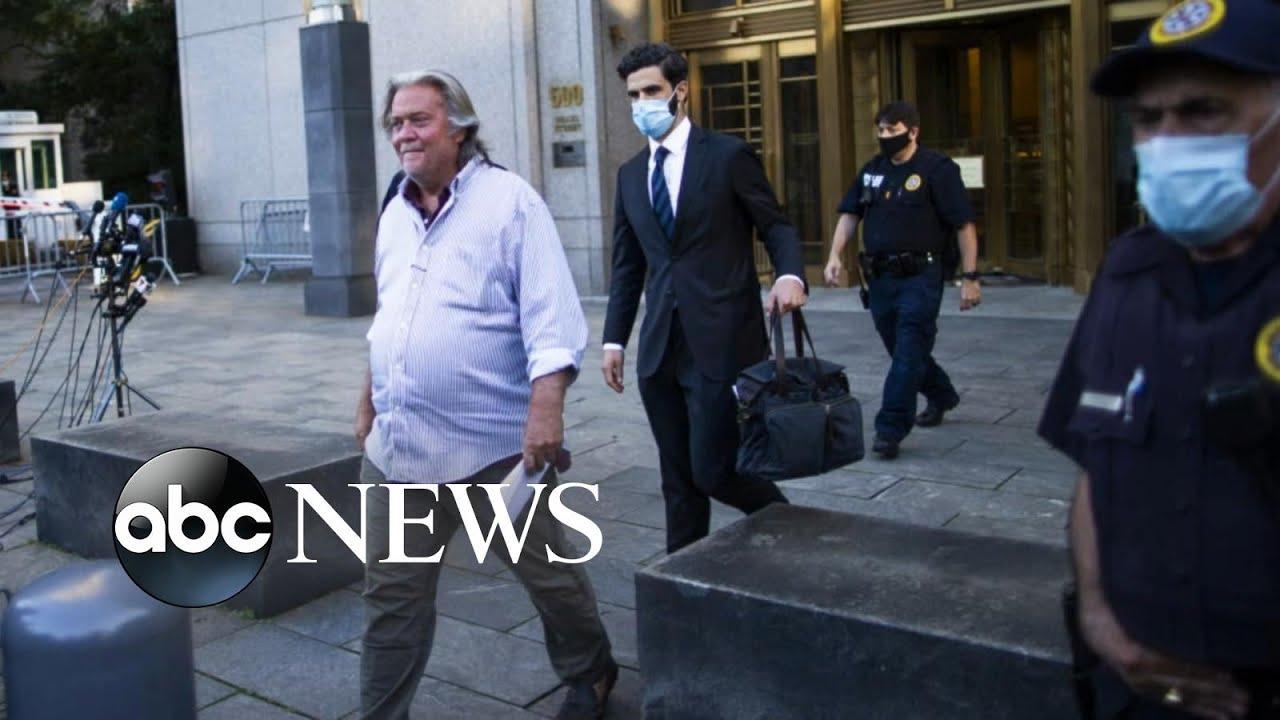Steve Bannon Arrested For Fraud