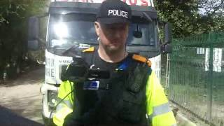 getlinkyoutube.com-Local Hero - Manchester Police intimidation ... doesn't work!!