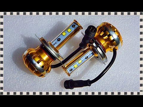ДИОДНЫЕ ЛАМПЫ в фары, ОБЗОР и ТЕСТ/LED лампочки, ближний и | Review and Test Headlight Bulbs