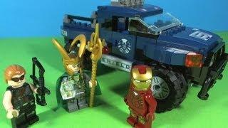 getlinkyoutube.com-LEGO IRON MAN Loki's cosmic cube escape 6867