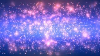 getlinkyoutube.com-4K 10:00Min. ☯ Purple Blue Massive Fast Stars ☯ 2160p FREE Motion Background