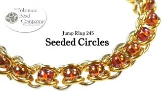 "getlinkyoutube.com-Make a "" Seeded Circles"" Bracelet"
