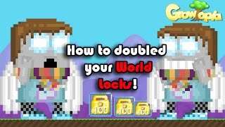 getlinkyoutube.com-Growtopia | How To Get 100 World Lock in 20 Min