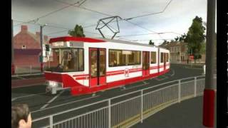 getlinkyoutube.com-Trainz Tram - Bridgehampton Metro South 2
