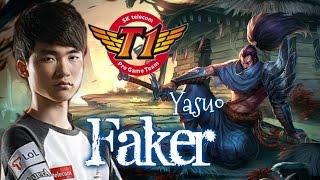 getlinkyoutube.com-SKT T1 Faker YASUO Mid vs Azir - Patch 5.22 KR   League of Legends