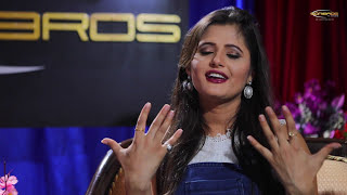 Anjali Raghav in Face 2 Face with Priyanka    Part # 1    latest Interview 2017