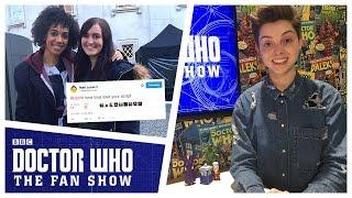 getlinkyoutube.com-Series 10 Filming, Writers & Missy! - Doctor Who: The Fan Show