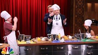 getlinkyoutube.com-Tonight Show MasterChef Junior Cook-Off with Gordon Ramsay