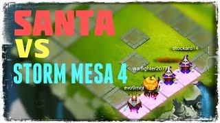 getlinkyoutube.com-Castle Clash: Santa Boom vs. Storm Mesa 4