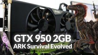getlinkyoutube.com-Gameplay GTX 950 2GB no ARK Survival Evolved Médium, High e Low - #SAMFAMILY