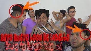 RETO NUEVO LOOK DE CABELLO | CORTE DE PALMERA (Corte de cabello sale mal)