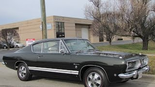 getlinkyoutube.com-1968 Plymouth Barracuda Formula S ***FOR SALE***