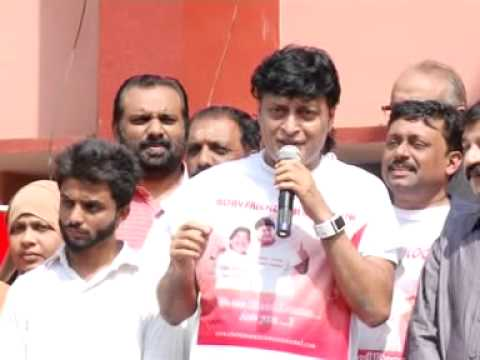 bobby chemmannur kerala run for blood bank