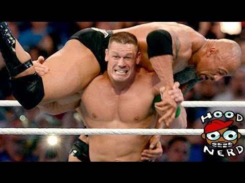 WWE Wrestlemania 28 2012 The Rock Vs John Cena [Review Video]