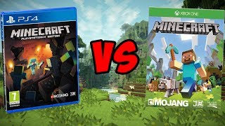 getlinkyoutube.com-Minecraft Xbox One VS Minecraft PS4! | Which is Better?