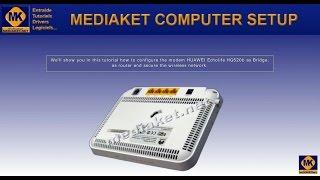 getlinkyoutube.com-HUAWEI Echolife HG520b Modem configuration as bridge, as Router and Secure the WIFI