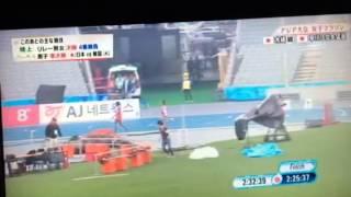getlinkyoutube.com-アジア大会女子マラソンでのハプニング