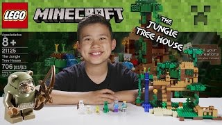 getlinkyoutube.com-LEGO MINECRAFT - Set 21125 THE JUNGLE TREE HOUSE - Unboxing, Review, Time-Lapse Build