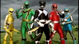 getlinkyoutube.com-Power Rangers Top 10 Team Ups