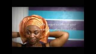getlinkyoutube.com-DIY Gele Tutorial: Tie Aso-Oke Gele - Layers Technique
