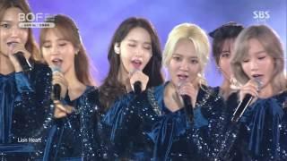 getlinkyoutube.com-161001 SNSD 소녀시대 - Lion Heart (라이온 하트) + GEE (지) @ BOF 부산 원아시아 페스티벌