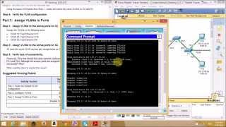 3.2.1.7 Packet Tracer - Configuring VLANs