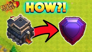 getlinkyoutube.com-Clash of Clans - HOW TO GET LEGENDS AT TOWN HALL 9! HOW IS THIS EVEN POSSIBLE?! Town Hall 9 Record!