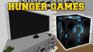 getlinkyoutube.com-Minecraft: PAT & JEN'S REAL LIFE HOUSE HUNGER GAMES - Lucky Block Mod - Modded Mini-Game