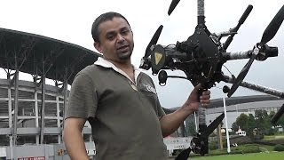 getlinkyoutube.com-HighOne Quadcopter for Panasonic GH4 Camera Flight testing