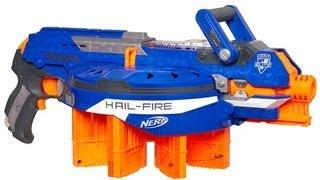 getlinkyoutube.com-NERF N-Strike Elite Hail-Fire Review