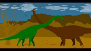 getlinkyoutube.com-PPBA Argentinosaurus vs Brachiosaurus