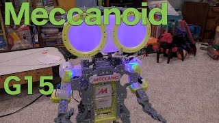 getlinkyoutube.com-Meccanoid G15 Personal Robot Full Review, The Meccano Maker System
