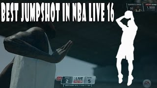 getlinkyoutube.com-BEST JUMPSHOT IN NBA LIVE 16 | NBA LIVE 16 PRO-AM GAMEPLAY