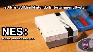 getlinkyoutube.com-3D Printed Mini Nintendo Console: NES