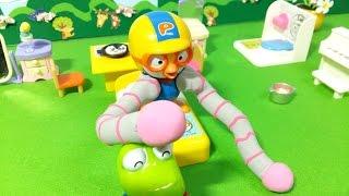 getlinkyoutube.com-로봇팔과 게으른 뽀로로 なまけポロロとロボうで★뽀로로 장난감 애니 ポロロおもちゃアニメ