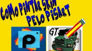 getlinkyoutube.com-☆▶Como Pintar skin do Grand truck simulator pelo pisart◀☆