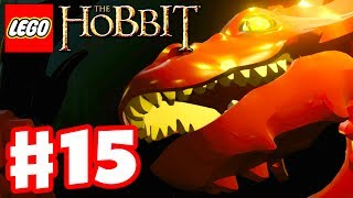 getlinkyoutube.com-LEGO The Hobbit - Gameplay Walkthrough Part 15 - Smaug Boss Fight Ending! (Xbox One, PS4, PC)