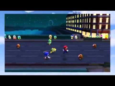 Wii - Mario e Sonic ai Giochi Olimpici di Londra 2012 - Presentazione dei minigiochi