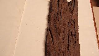 getlinkyoutube.com-DIY jak zrobic deskę ze styropianu ( faux wood) imitacja drewna