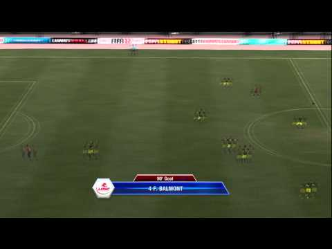85 Yard Goal!!! Longest FIFA goal ever???   FIFA 12 Manual Controls