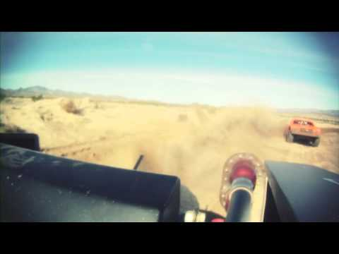 Monster Energy's BJ Baldwin VS. Robby Gordon at the 2011 SCORE Laughlin Desert Challenge