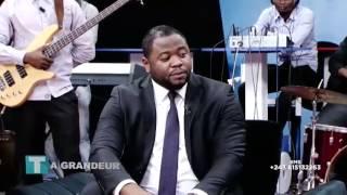Moise Mbiye la Réserve de l'Eternel dans Ta Grandeur émission de Tonton Jacko et Dorcas Kapinga