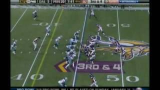 getlinkyoutube.com-Sidney Rice Embarrasses The Cowboys 2009 Playoffs
