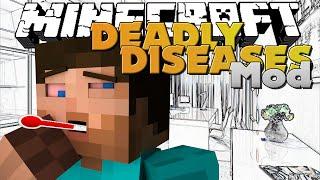 getlinkyoutube.com-Minecraft - DEADLY DISEASES MOD - NEW SURVIVAL TACTICS