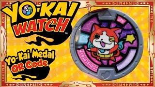 getlinkyoutube.com-Yo-Kai Watch - Yo-Kai Medal QR Codes | U.S. Jibanyan Medal! [Tips & Tricks]