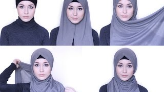getlinkyoutube.com-HIJAB TUTORIAL Everday simple style @NABIILABEE