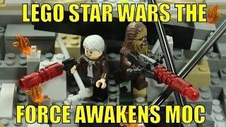 getlinkyoutube.com-LEGO STAR WARS THE FORCE AWAKENS BATTLE MOC