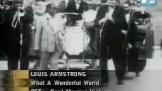 Louis Armstrong - What A Wonderfull World - subtitulada en español